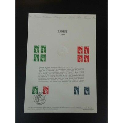 Document officiel - Sabine 1980