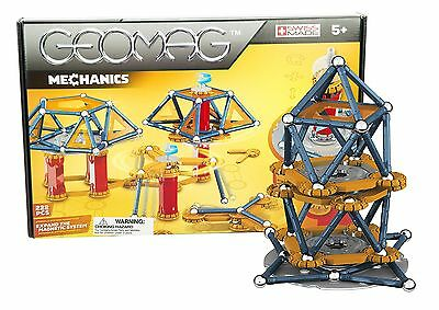 "Geomag ""Mechanics"" Magnetic Construction Set (222-Piece Multi-Color)"