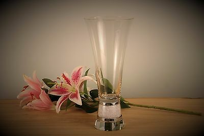New Swarovski Crystal Filled Large Vase Gift Boxed Wedding Gift Engagement