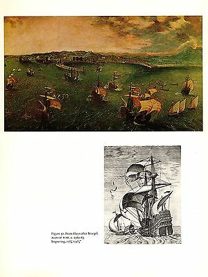 "1969 Vintage BRUEGEL /""DETAIL THE HUNTERS IN THE SNOW/"" COLOR offset Lithograph"