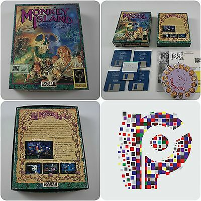 The Secret Of Monkey Island A Lucasfilm Game for the Amiga tested & working