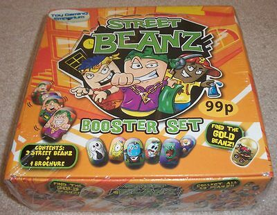 Factory Sealed Street Beanz Booster Box Set (Similar to Mighty Beanz)