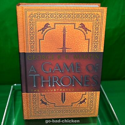 Signed A GAME OF THRONES Illustrated Edition by George RR Martin 2016 1st/1st HC