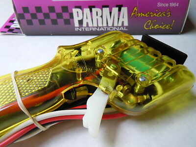 45 ohm Parma HO Plus Slot Car Controller ~ New Translucent Yellow