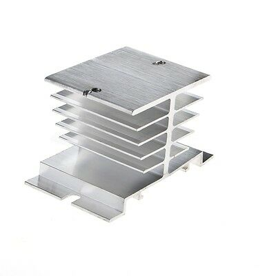 1Pc Single Phase Solid State Relay SSR Heat Sink Aluminum Dissipation Radiator