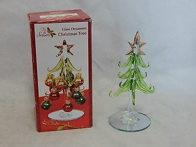 Blown Glass Ornament Christmas Tree