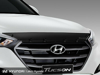 New Genuine Hyundai Tucson Bonnet Protector Smoked Tinted Part D3A32APH10