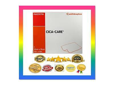 ☆  15x12cm! ☆LARGEST CICA-CARE SILICONE SHEET☆LIMITED☆SCAR REDUCTION☆FASTUK☆