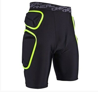 Oneal Trail Lime/black Padded Shorts