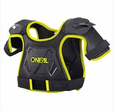 Oneal Kids Peewee Black/hi-Viz Chest Protector Body Armour