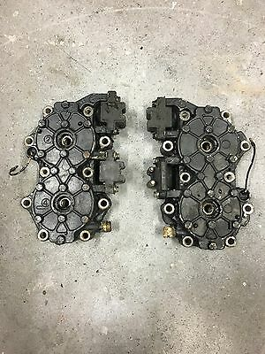 90hp-115hp Johnson/Evinrude Outboard Cylinder Heads Set (pair) V4