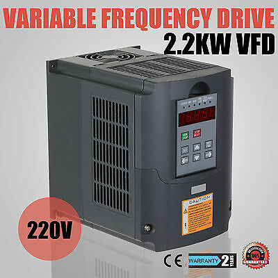 2,2KW 3HP Frequenzumrichter VFD Single Speed VSD 380V Variable Frequency Driver