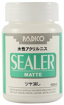 PADICO Sealer Matte Waterbased Acrylic Polymer Emulsion coat 100ml varnish