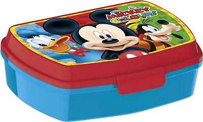 Disney Mickey Mouse Sandwich Lunch Snack Box Ideal For School