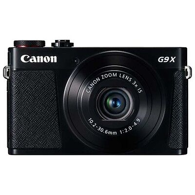 Canon PowerShot G9X Digital Camera (Black) with GEN CANON WARR
