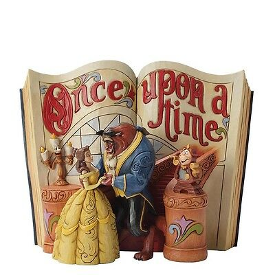Beauty and the Beast Storybook JIM SHORE DISNEY TRADITIONS 4031483