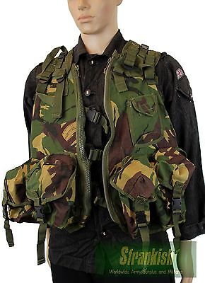 (6) GENUINE BRITISH ARMY CADET TACTICAL ASSAULT VEST in DPM WOODLAND CAMO