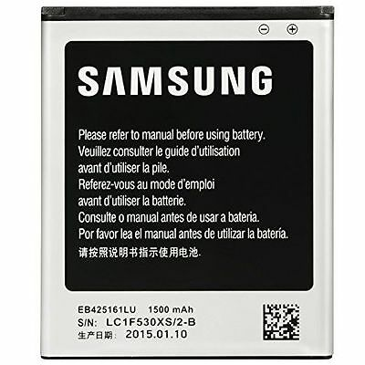 Original Battery Samsung Galaxy Ace Duos 1500mAh / 5.7Wh for Samsung EB425161LU