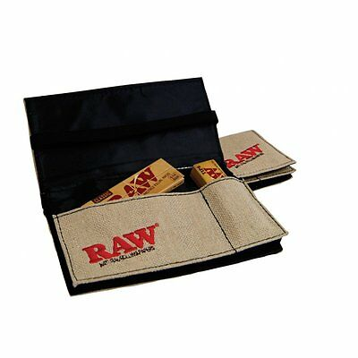 RAW SMOKERS WALLET FOR TOBACCO AND PAPERS ACCESSORY - Tobacco Pouch Natural