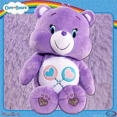 Care Bears Sing-a-Long - Talking Purple Share Bear with Sound and Movement