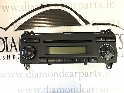 2007 Vw Crafter Radio Cd Player Be 7078
