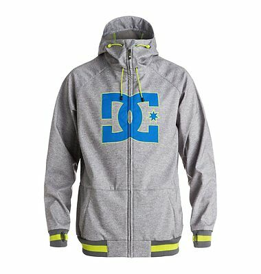 Dc shoes  giacca snowboard Spectrum grey heather lime blue