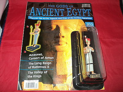 Hachette The Gods of Ancient Egypt - Issue 103 - Amaunet - Consort of Amun