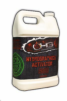 OHG Hydrographics Activator Gallon (128oz) ECO-Friendly Low Odor Vanilla Scented