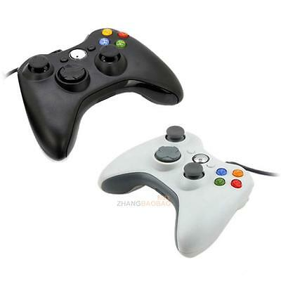 Wired USB Game Pad Joypad Controller For MICROSOFT Xbox 360 Slim & PC New