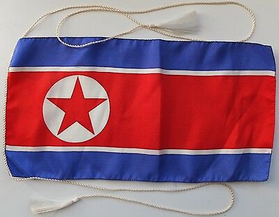 North Korea Table Small Flag 1970-80's