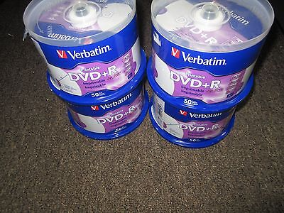picture relating to Verbatim Printable Dvd R titled Ton OF 4X Clean Verbatim Printable DVD+R Existence Sequence DVD 4x50PK 4.7GB 120min 98492