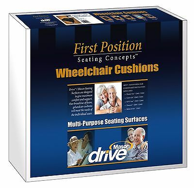 Drive Wheelchair Cushion Gel-U-Seat Cushion