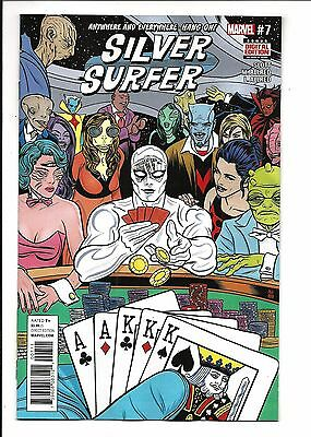 SILVER SURFER # 7 (DEC 2016), NM/M NEW (Bagged & Boarded)