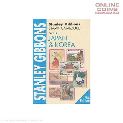 Stanley Gibbons Stamp Catalogue Japan Korea Part 18 5th Edition Soft Cover Book