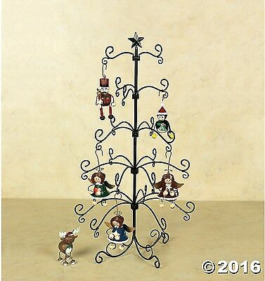 """Special Christmas Ornaments Wire Display Tree 24""""H ~New~ Free Shipping"""