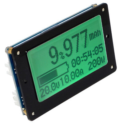 TF02N 50V 50A Battery Capacity Tester Volt&Current Digital Meter Coulomb Counter