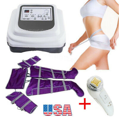 USA Air Pressure Far Infrared Lymph Drainage Toxin Weight Loss Therapy+Free Gift