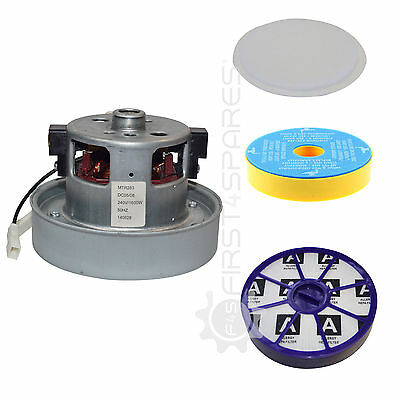 Compatible Dyson Motor and Filters Kit: DC05, DC08, DC14, DC19, DC20, DC21, DC29