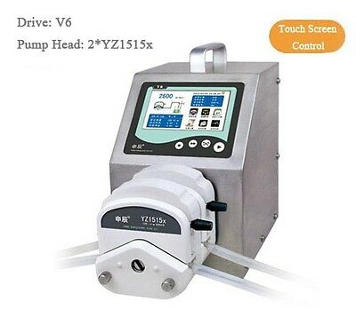 Peristaltic Pump Intelligent Flow Type V6 2280 ml/min 2*YZ1515x