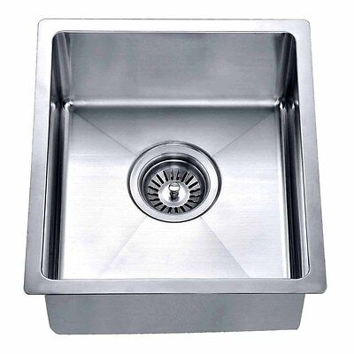 15 inches small kitchen and bar sink with small radius