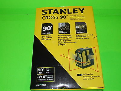 Stanley Cross 90 Self Levelling Cross Line + 90° Vertical line Laser! NEW-SEALED