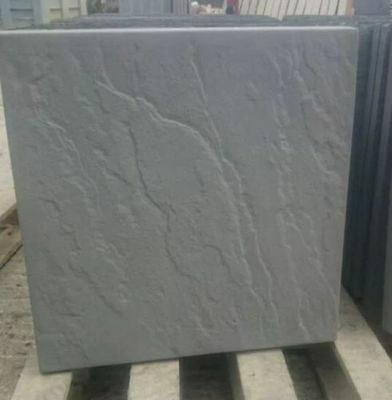 50 CHARCOAL CONCRETE RIVEN PAVING SLABS 450x450 DELIVERY INCLUDED
