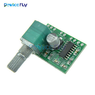 PAM8403 5V 2Channel USB Power Audio Amplifier Board 3Wx2W Volume Volume Control