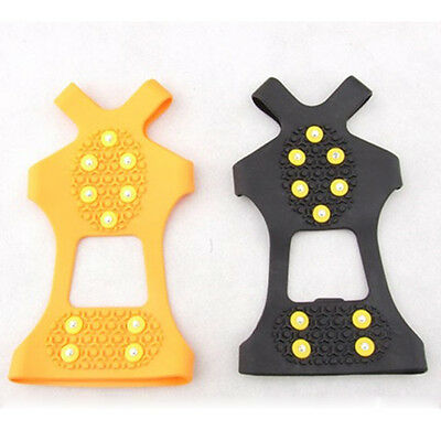 Popular Anti-Skid Snow Ice Climbing Shoe For Safety Spikes Grips Crampons Cleats