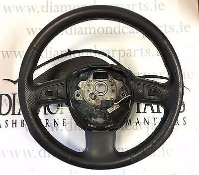 2006 Audi A4 B7 Multi Function Leather Steering Wheel 8P0419091Bl
