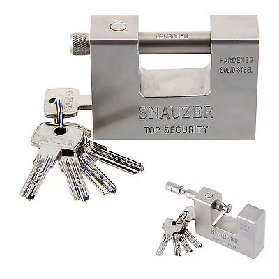 95mm Super Heavy Duty Shipping Container Garage Warehouse Padlock  Lock UK