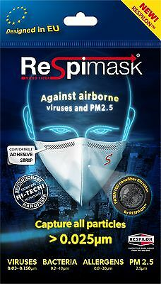 NEW Face Mask Medium 10 pcs protects from Viruses Dust Mould Allergens Flu Cold