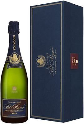 Pol Roger Sir Winston Churchill Vintage Champagne 2004 Gift Box 75cl