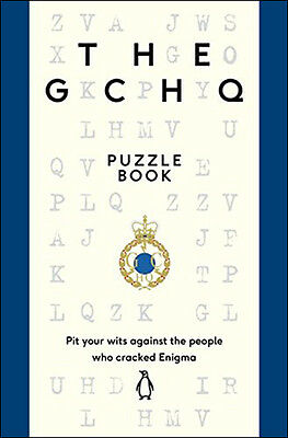 The GCHQ Puzzle Book (Paperback) *BRAND NEW*