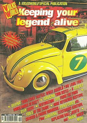 VOLKSWORLD KEEPING YOUR LEGEND ALIVE no. 4 SPR 98 feat. Beetle servicing/repair